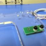 3Dプリンターのサイドパネルにリミットスイッチを取り付け